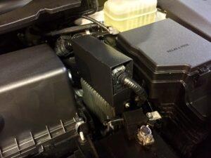 Пример блок-сейфа для защиты ЭБУ автомобиля